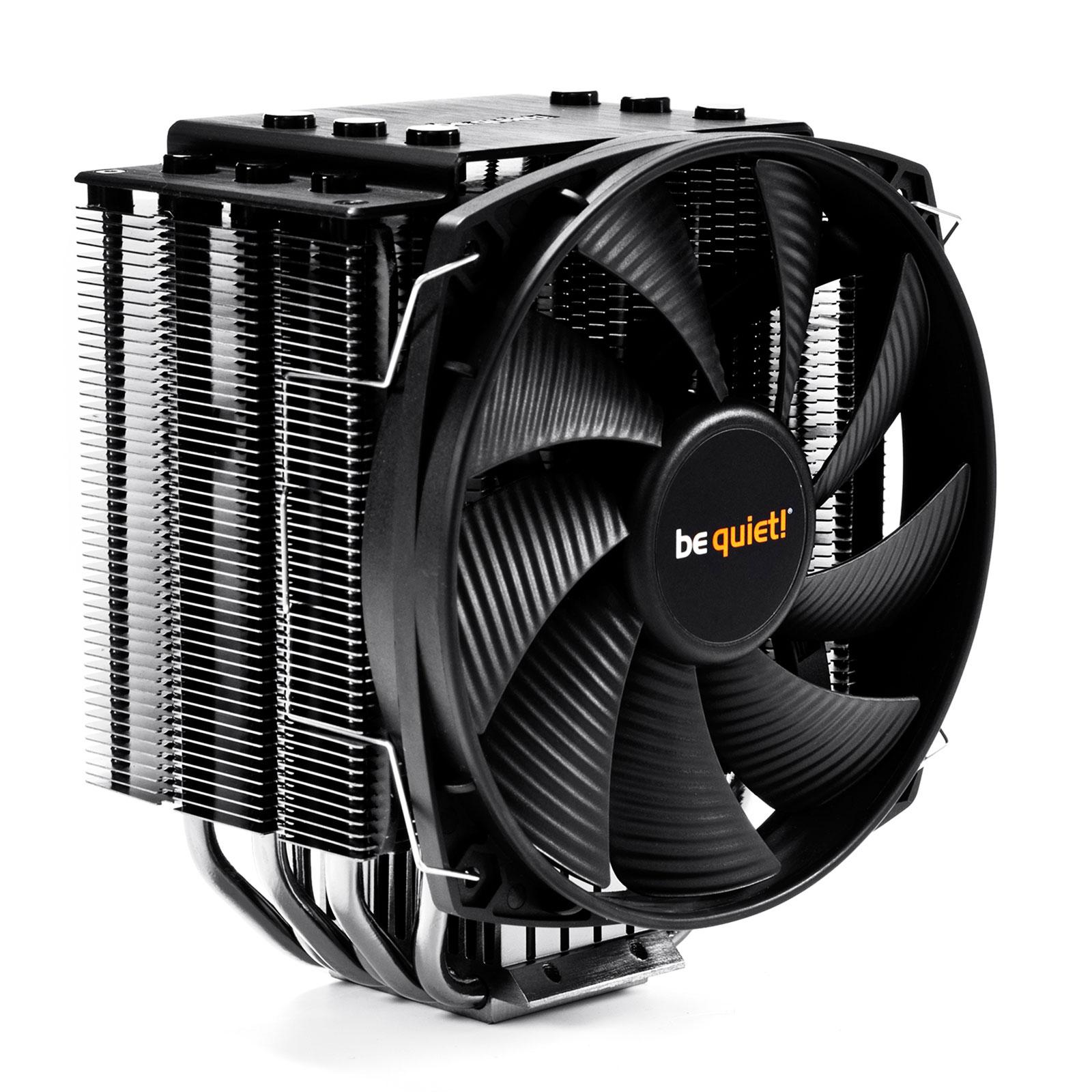 Ventilateur processeur be quiet! Dark Rock 3 Ventilateur de processeur (pour Socket AMD AM2/AM2+/AM3/AM3+/FM1/FM2/754/939/940 et INTEL LGA 775/1150/1151/1155/1156/1366/2011) - Garantie constructeur 3 ans
