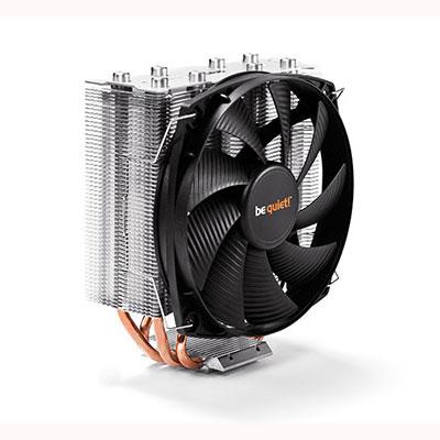 Ventilateur processeur be quiet! Shadow Rock Slim Ventilateur de processeur (pour Socket AMD AM2/AM2+/AM3/AM3+/FM1/FM2/754/939/940 et INTEL LGA 775/1150/1151/1155/1156/1366/2011) - Garantie constructeur 3 ans