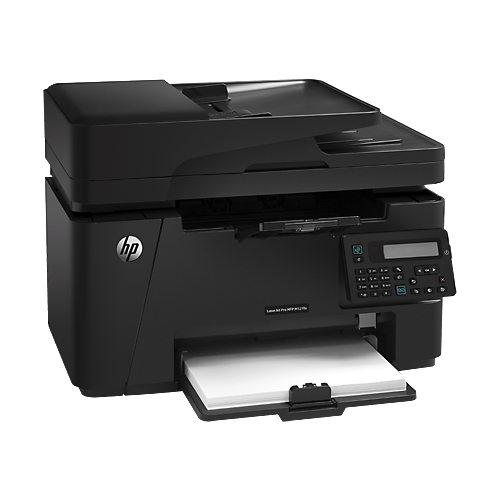 Imprimante multifonction HP LaserJet Pro MFP M127fn (CZ181A) Imprimante Multifonction laser monochorme 4-en-1 (USB 2.0/Ethernet)