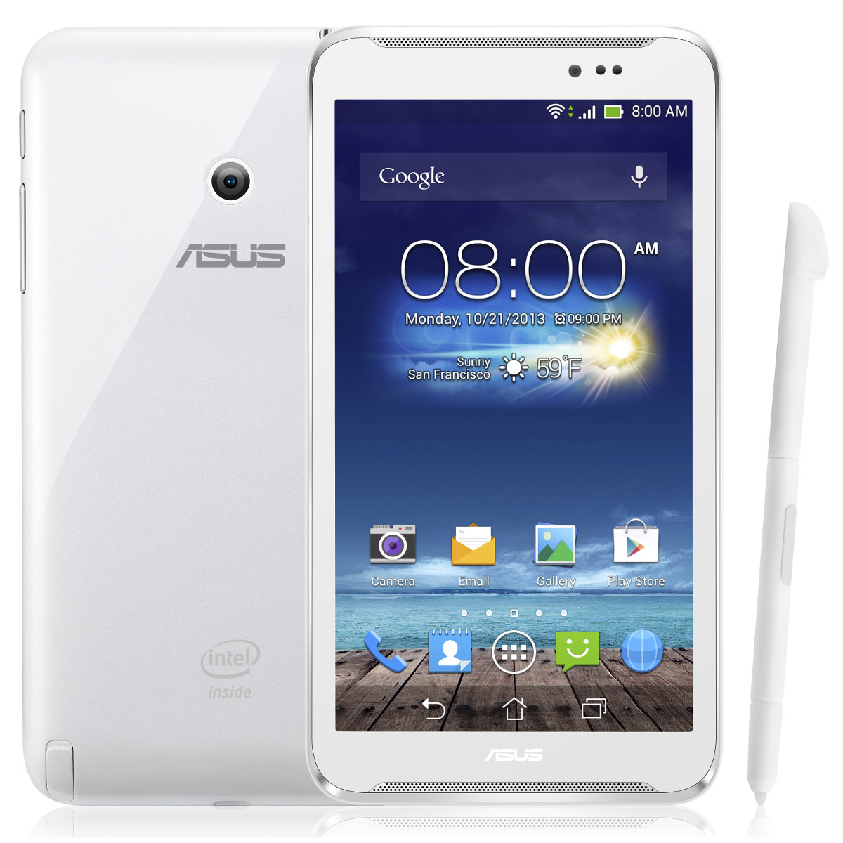 asus fonepad note 6 me560cg 1a023a blanc tablette tactile asus sur ldlc. Black Bedroom Furniture Sets. Home Design Ideas