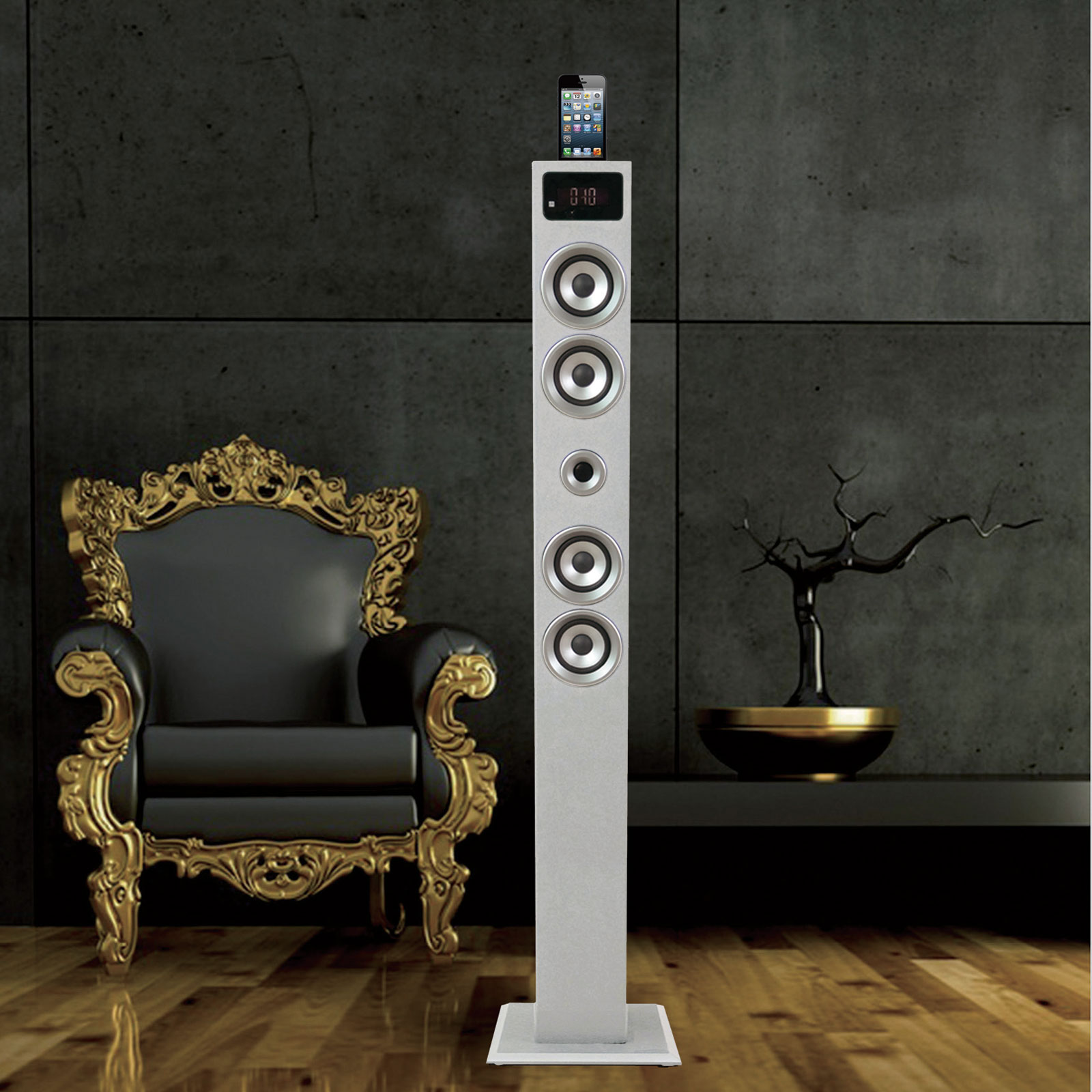 soundvision sv t03 bt blanc sv t03btw achat vente. Black Bedroom Furniture Sets. Home Design Ideas