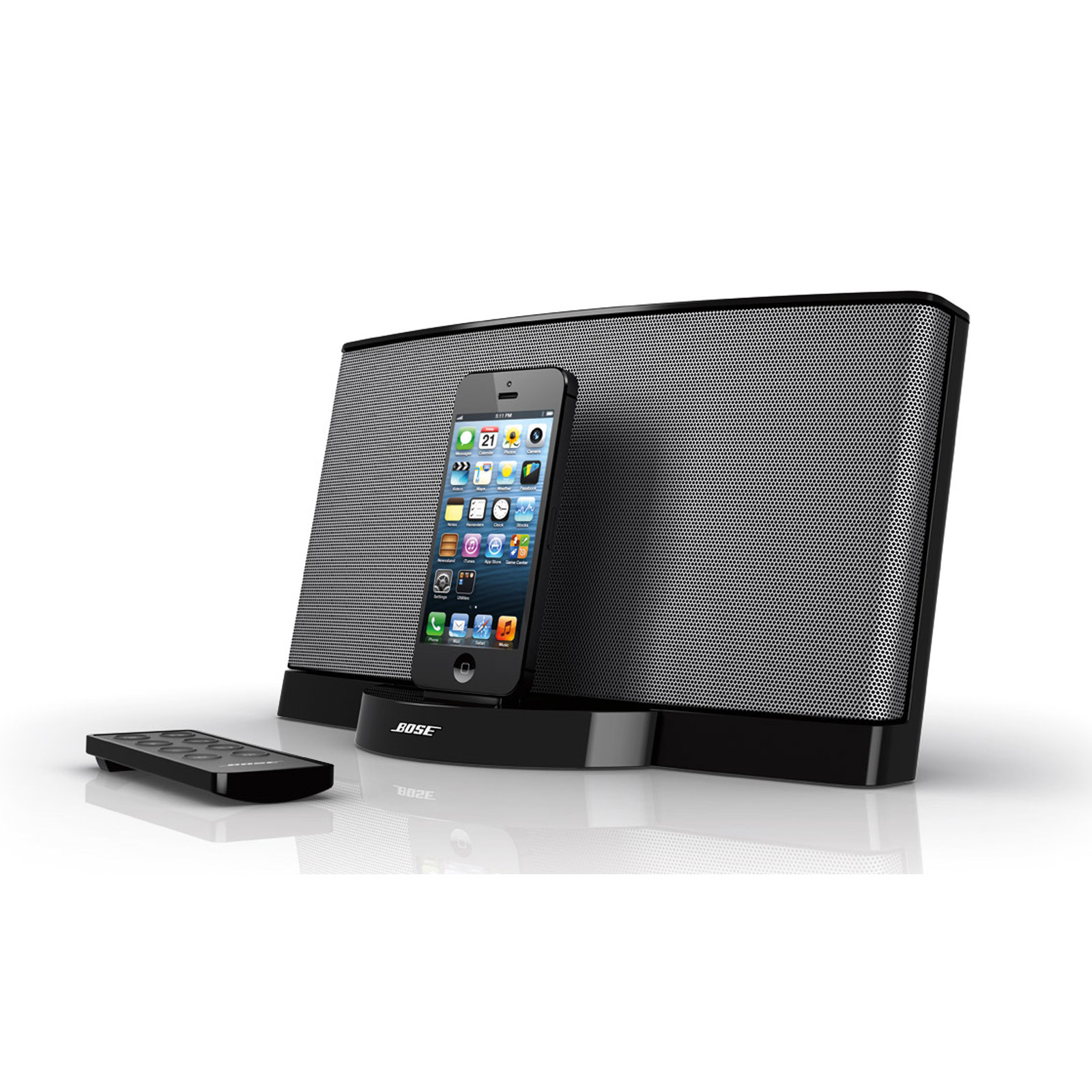 bose sounddock iii noir dock enceinte bluetooth bose. Black Bedroom Furniture Sets. Home Design Ideas