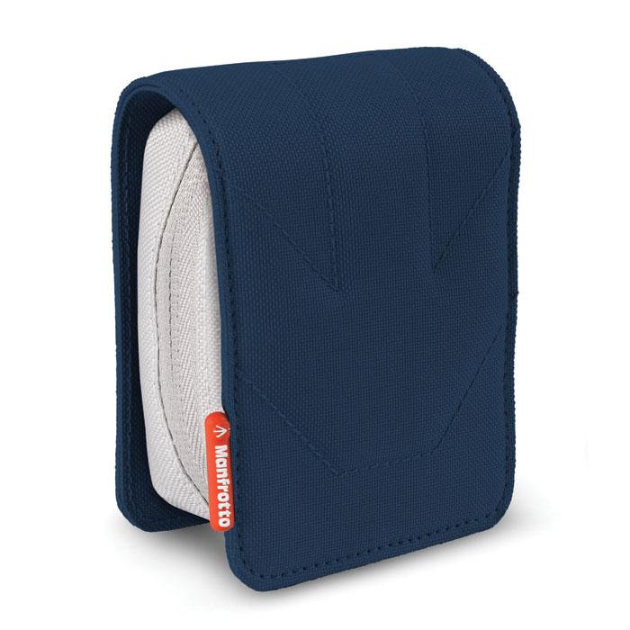 Sac & étui photo Manfrotto Piccolo 5 Bleu Étui rigide pour appareil photo numérique compact