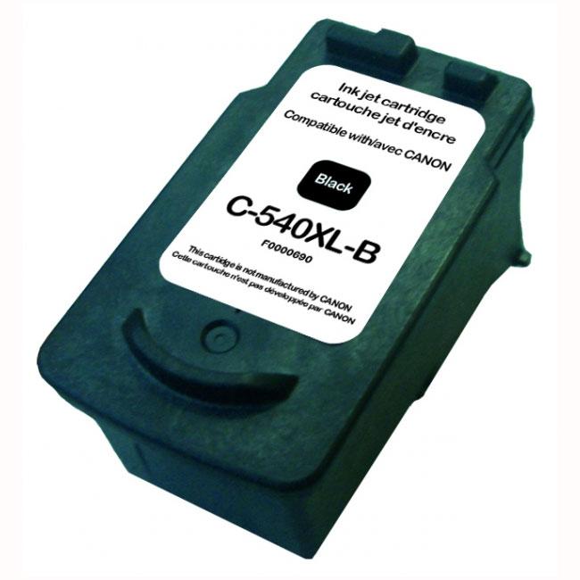 Cartouche imprimante Cartouche compatible PG-540 XL (Noir) Cartouche d'encre noire compatible Canon PG-540 XL