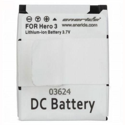 Batterie caméscope Eneride Batterie compatible GoPro AHDBT-201/301 Batterie compatible GoPro AHDBT-201/301 (pour GoPro Hero 3)