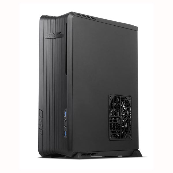 Boîtier PC SilverStone Raven RVZ01 (noir) Boîtier desktop Mini ITX