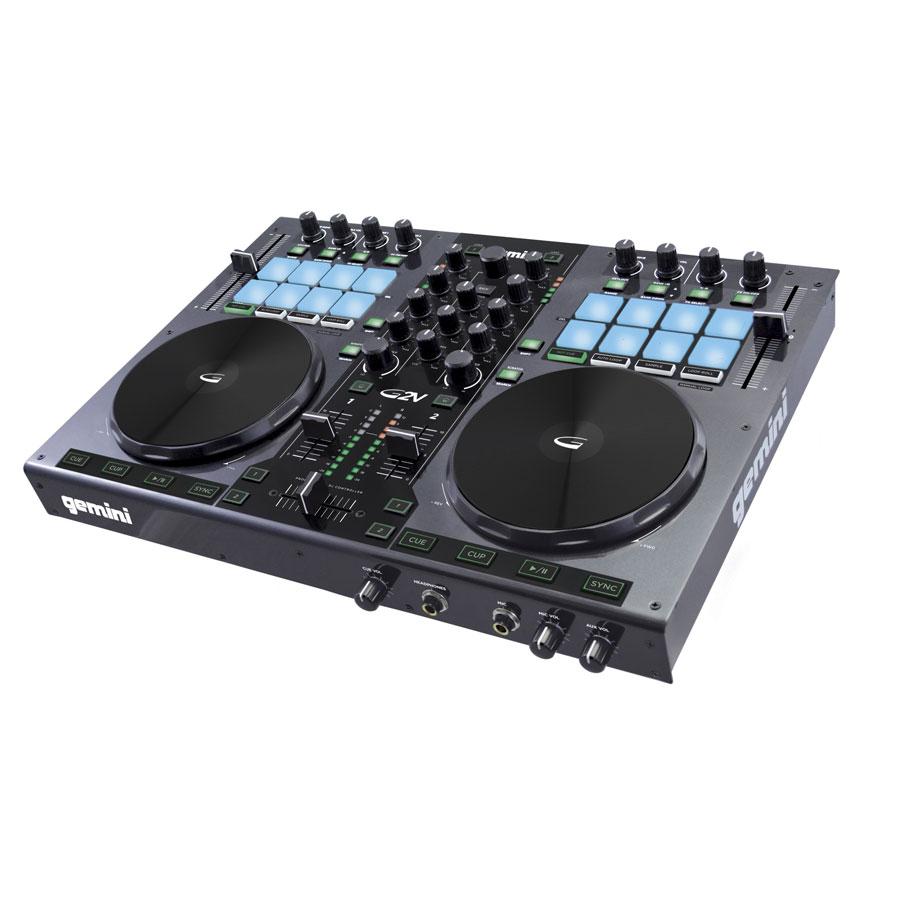 Gemini g2v g2v achat vente table de mixage sur - Telecharger table de mixage dj gratuit pour pc ...