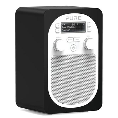 Pure evoke d2 domino radio radio r veil pure sur ldlc for Radio numerique portable