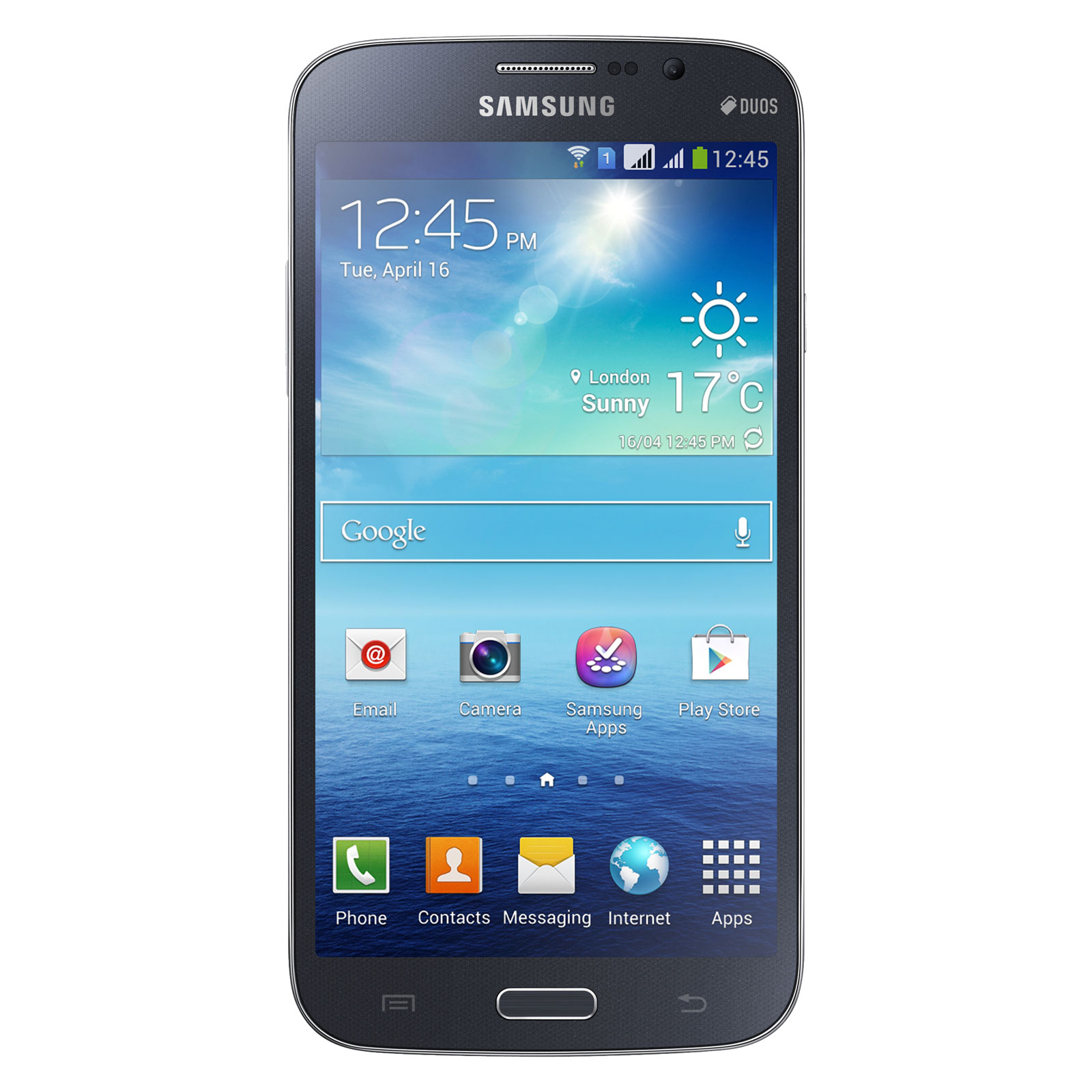 samsung galaxy mega duos gt i9152 noir mobile smartphone samsung sur ldlc. Black Bedroom Furniture Sets. Home Design Ideas