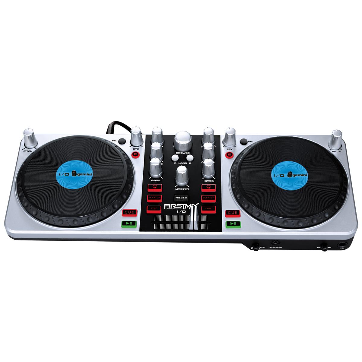 Gemini firstmix i o firstmix i o achat vente table - Table de mixage avec carte son integree ...