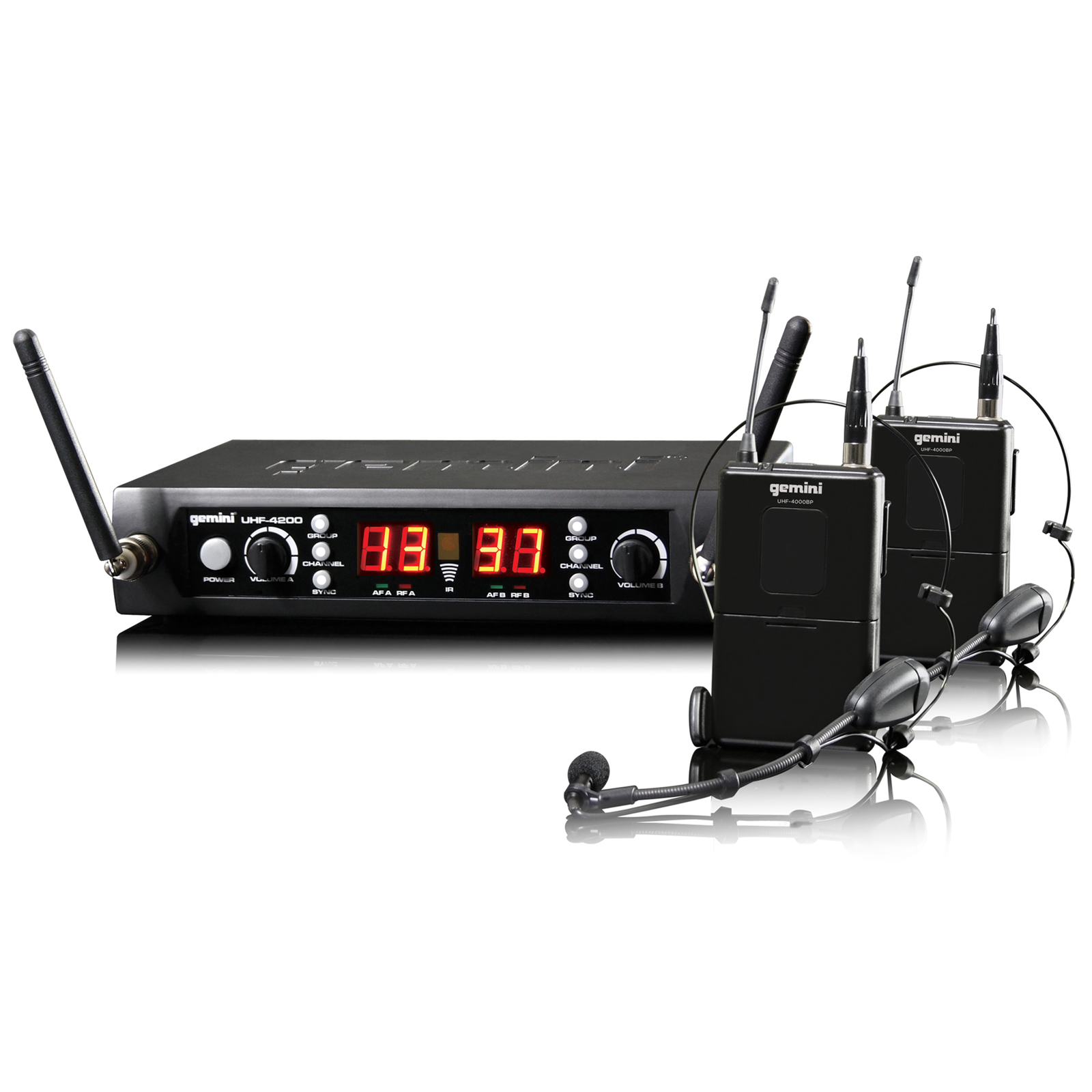 gemini uhf 4200hl uhf 4200hl achat vente microphone sur. Black Bedroom Furniture Sets. Home Design Ideas