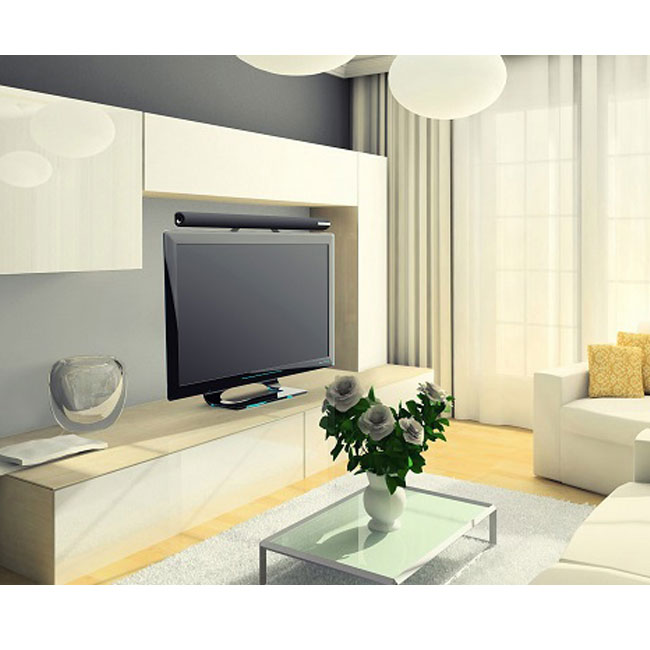 enceintes meliconi sound bar 1000 support tv pour. Black Bedroom Furniture Sets. Home Design Ideas