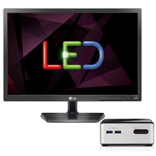 ldlc pc nuc i3 4 h10s led pc de bureau ldlc sur ldlc. Black Bedroom Furniture Sets. Home Design Ideas