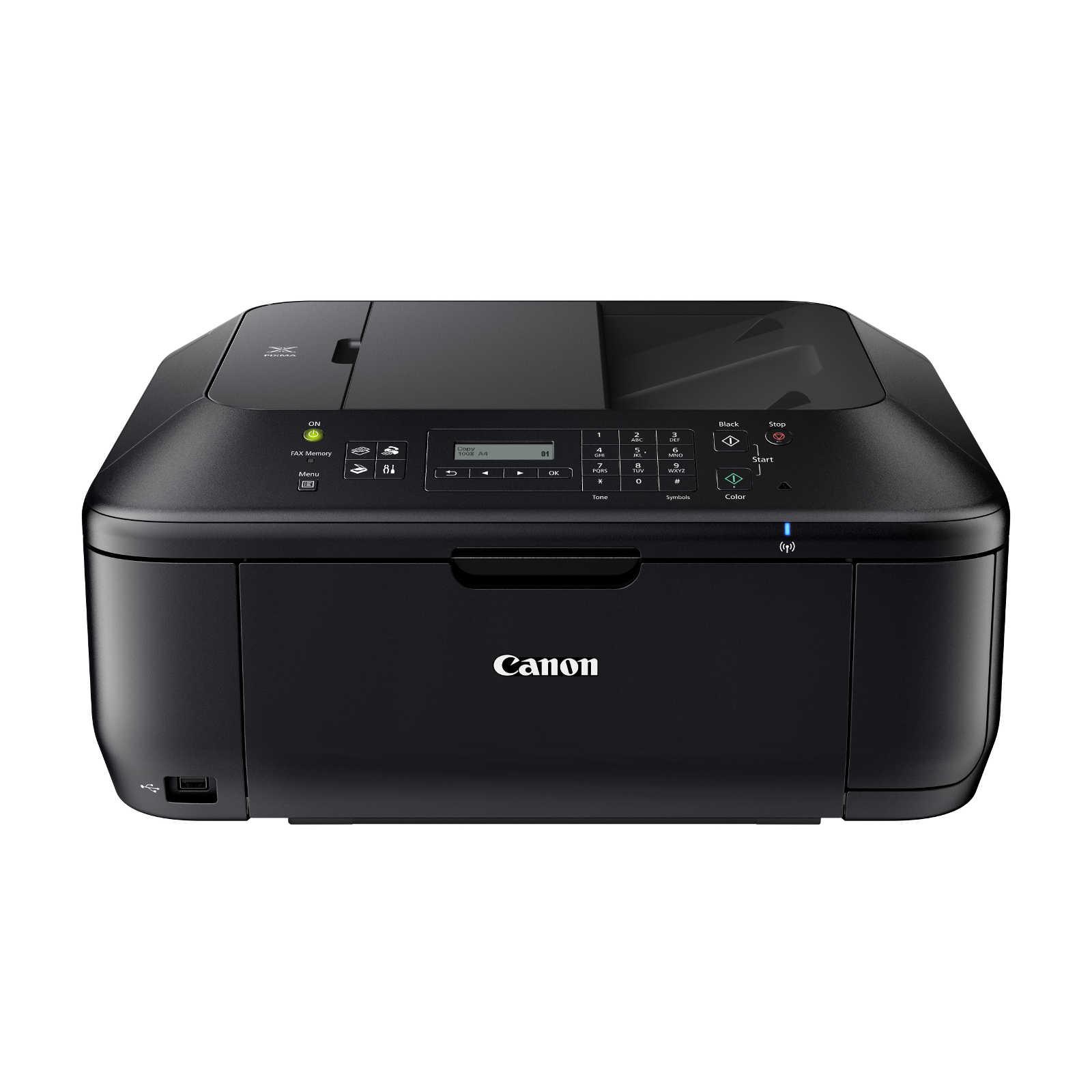 Imprimante multifonction Canon PIXMA MX535 Imprimante Photo Multifonction jet d'encre couleur 4-en-1 (USB / Wi-Fi)