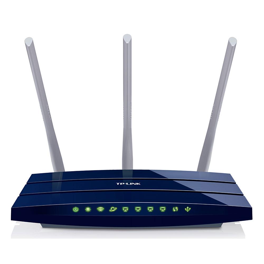 Modem & routeur TP-LINK TL-WR1043ND Routeur Gigabit Wi-Fi N MIMO (450 Mbps)