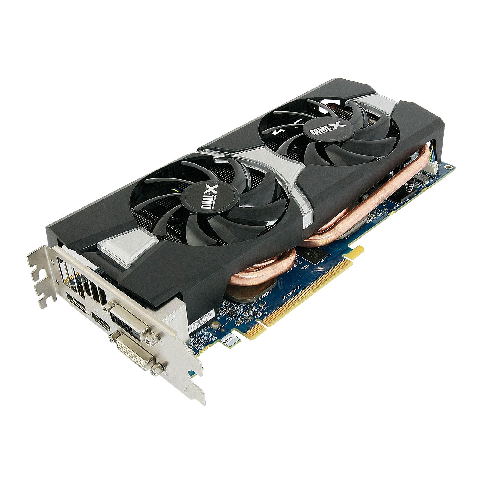 Carte graphique Sapphire Radeon R9 280 Dual-X 3G GDDR5 OC 3 Go Dual DVI/HDMI/DisplayPort - PCI Express (AMD Radeon R9 280)