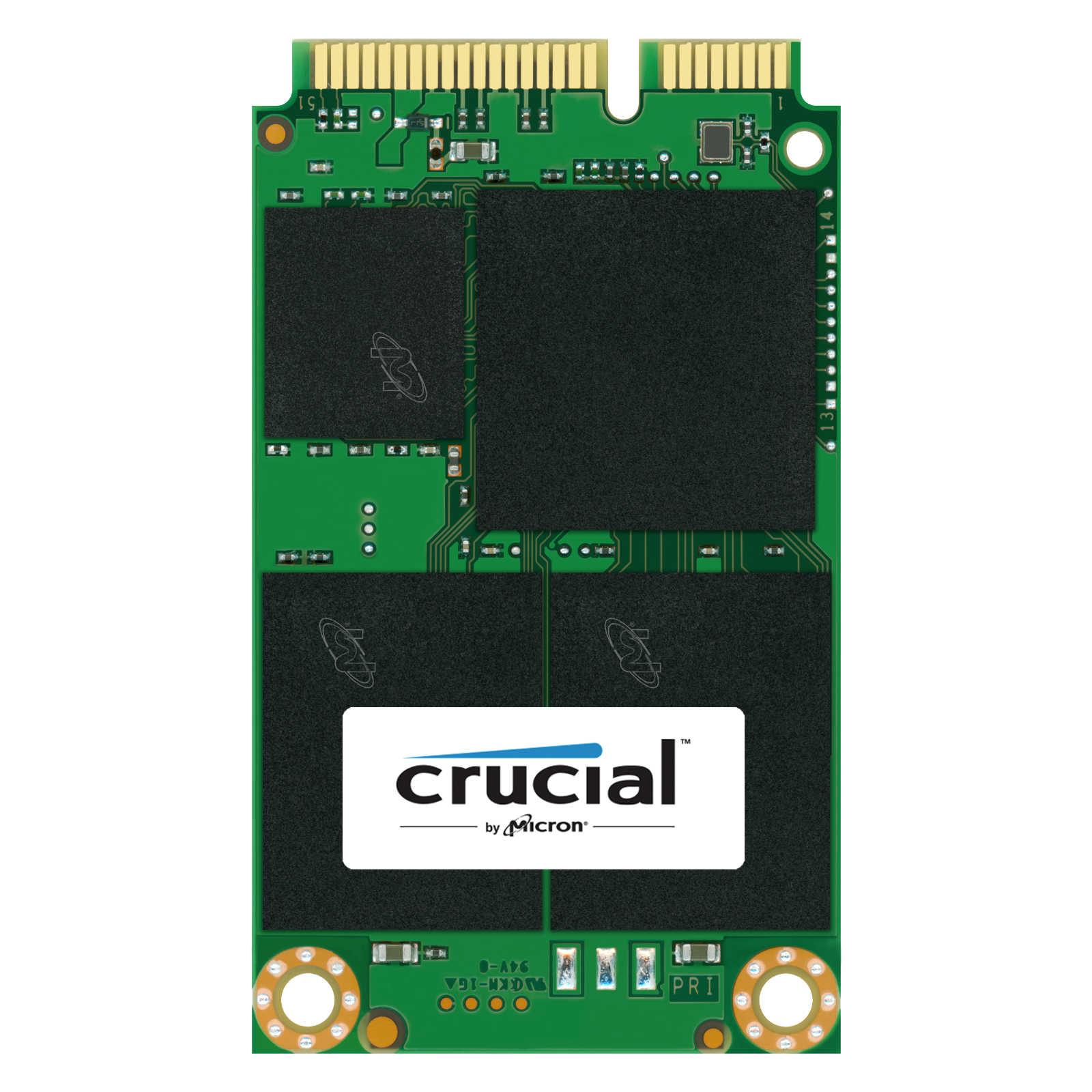 Disque SSD Crucial M550 512 Go mSATA SSD 512 Go 3.75mm mSATA 6Gb/s