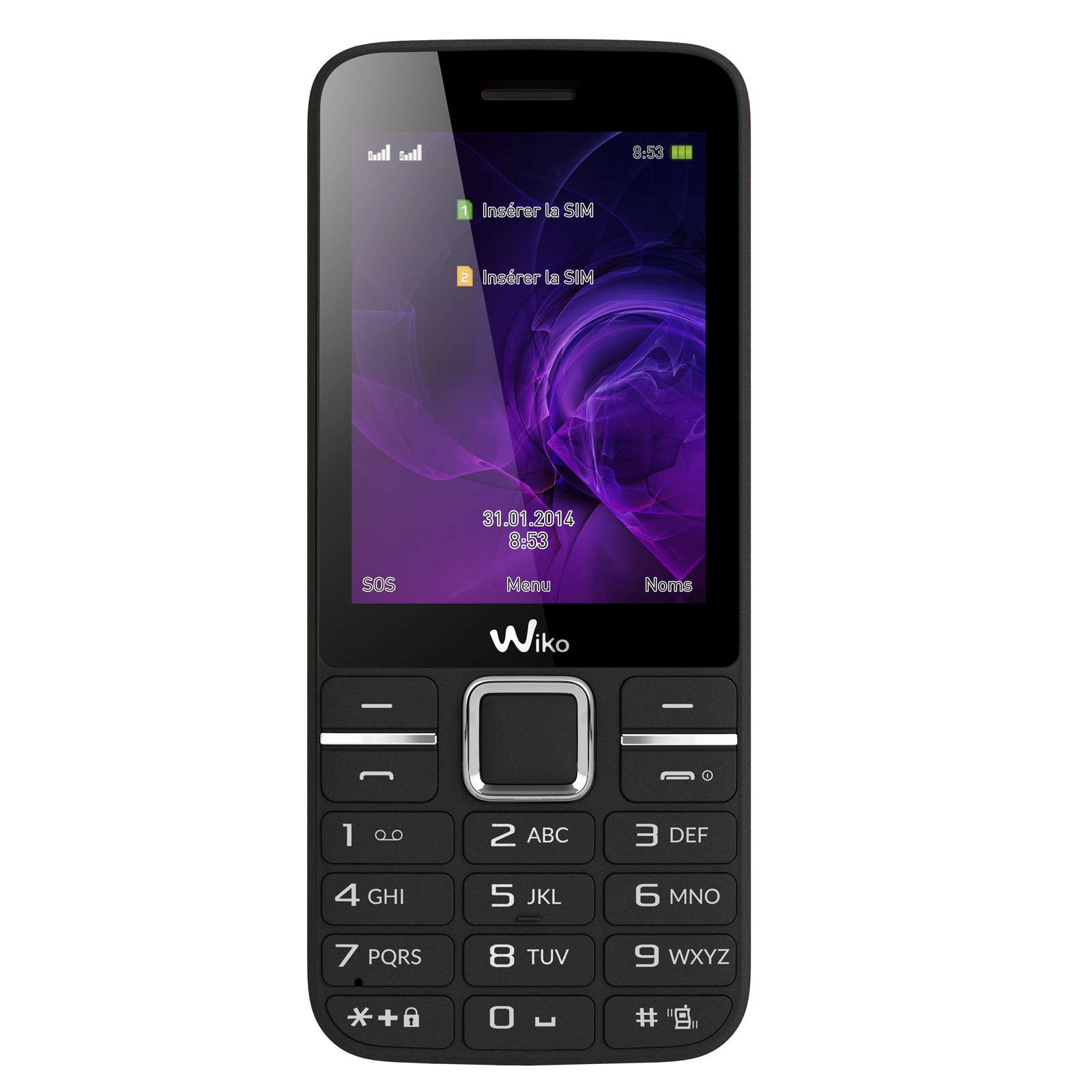 wiko kar 3 noir mobile smartphone wiko sur ldlc. Black Bedroom Furniture Sets. Home Design Ideas