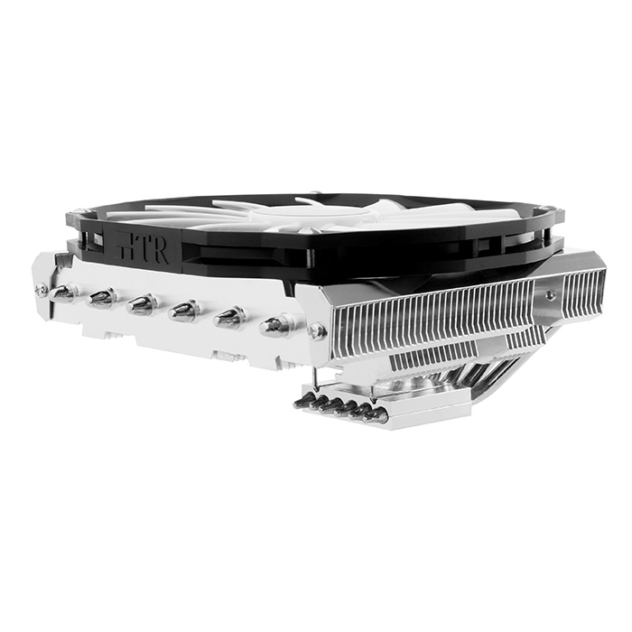 Ventilateur processeur Thermalright AXP-200 Muscle Ventilateur de processeur Low Profile (pour socket Intel 775/1150/1151/1155/1156/1366/2011 et AMD AM2/AM2+/AM3/AM3+/FM1/FM2)