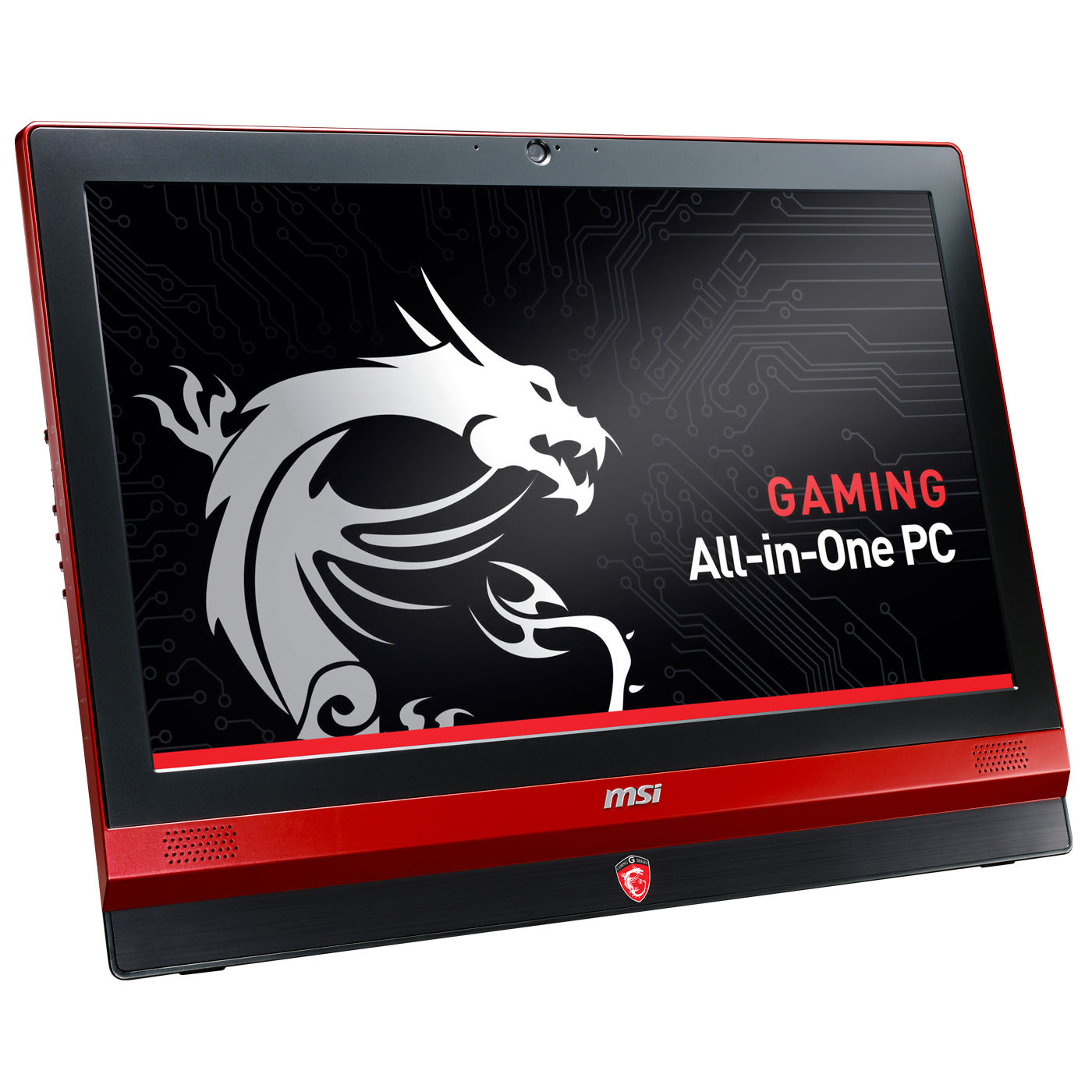 "PC de bureau MSI AG240 2PE-001XEU GAMING Intel Core i7-4700HQ 8 Go SSD 128 Go + HDD 1 To LED 23.6"" NVIDIA GeForce GTX 860M Graveur DVD Wi-Fi AC/Bluetooth Webcam (Garantie constructeur 2 ans)"