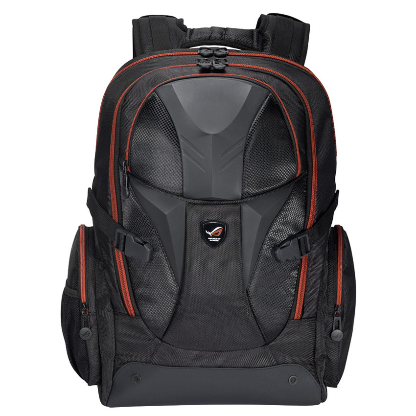 asus rog republic of gamers nomad backpack sac sacoche. Black Bedroom Furniture Sets. Home Design Ideas