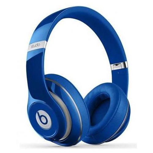 Casque Beats Studio 2 Bleu Casque circum-aural fermé pliable avec microphone intégré