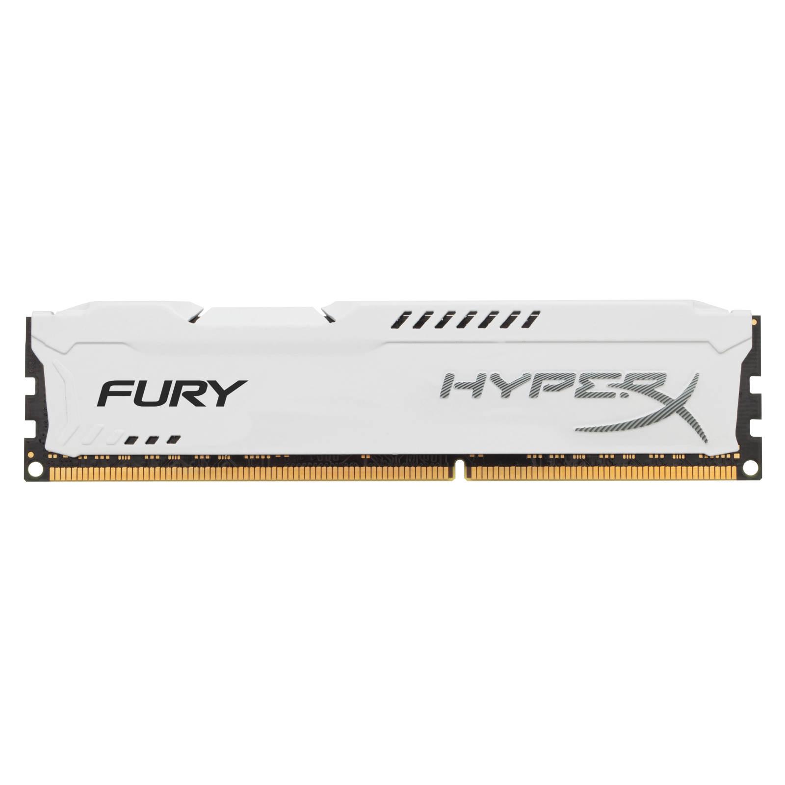 Mémoire PC HyperX Fury 4 Go DDR3 1333 MHz CL9 RAM DDR3 PC10600 - HX313C9FW/4 (garantie à vie par Kingston)