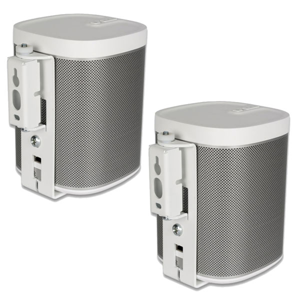 flexson bracket sonos play 1 swivel wall blanc par paire pied support enceinte flexson sur. Black Bedroom Furniture Sets. Home Design Ideas