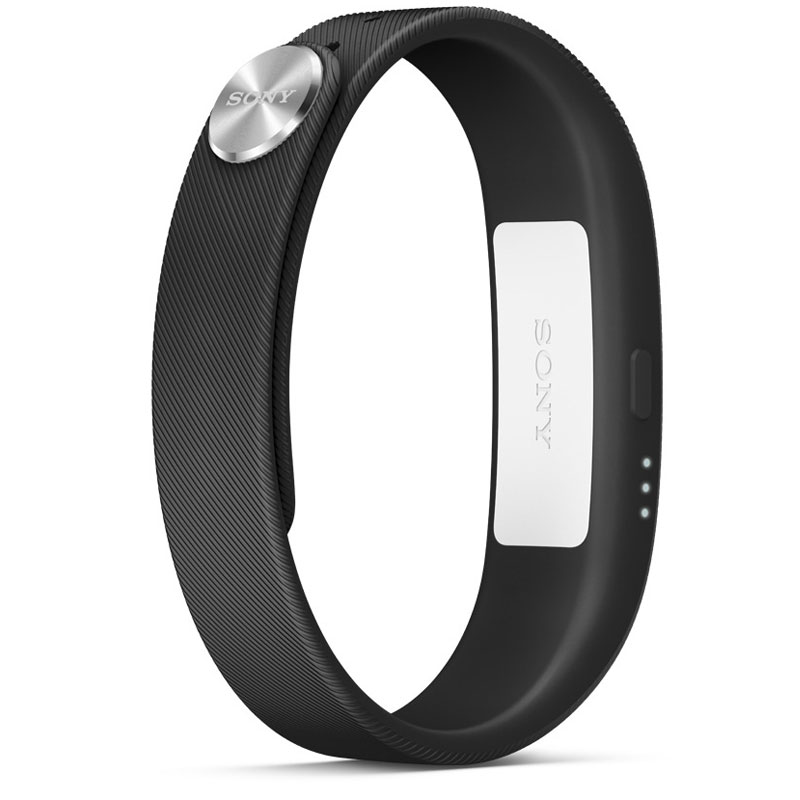Montre & Bracelets connectés Sony SmartBand SWR10 Noir Bracelet connecté Bluetooth et NFC