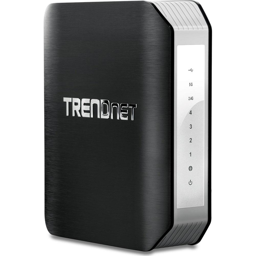 Modem & routeur TRENDnet TEW-818DRU Routeur Wi-Fi Dual Band AC 1900 Mbps (AC1300 + N600)