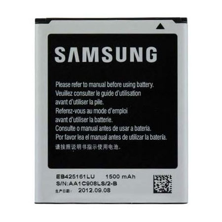 Batterie téléphone Samsung EB-425161LUCSTD Batterie Li-ion 1500mAh pour Samsung Galaxy Trend S7560