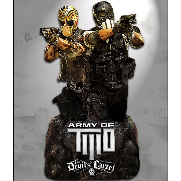 Jeux et Accessoires Play Arts Figurine Army of Two : le cartel du diable - Alpha et Bravo - Buste polystone 13 cm Play Arts Figurine Army of Two : le cartel du diable - Alpha et Bravo - Buste polystone 13 cm