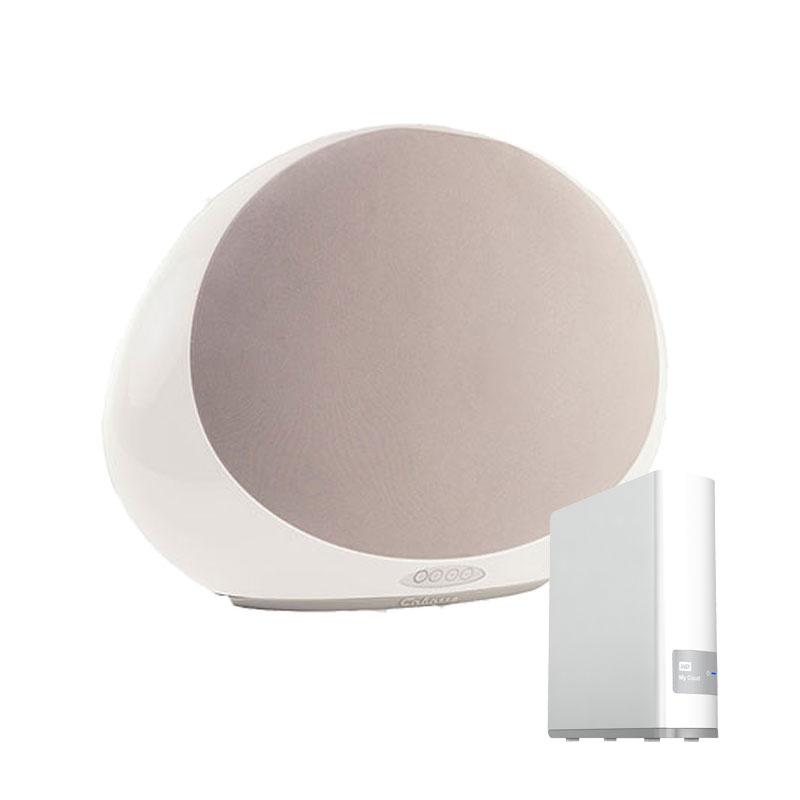 cabasse stream 1 blanc western digital my cloud 2 to. Black Bedroom Furniture Sets. Home Design Ideas
