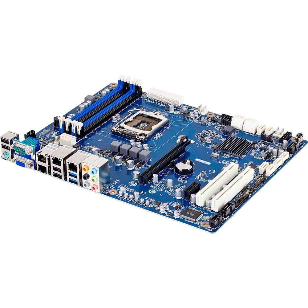 Carte mère Gigabyte GA-6LXSL Carte mère ATX Socket 1150 Intel H87 - SATA 6Gb/s - 1x PCI Express 3.0 16x (version bulk)