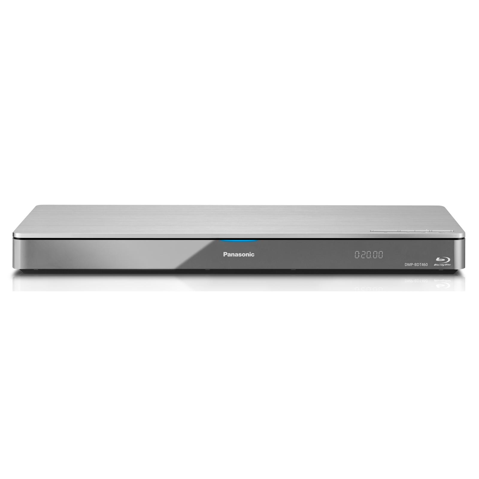 Lecteur Blu Ray Panasonic DMP-BDT460EG Lecteur Blu-ray 3D compatible Wi-Fi 4K, DLNA et double HDMI