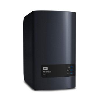 Serveur NAS WD My Cloud EX2 (sans disque) Serveur de stockage multimédia 2 baies