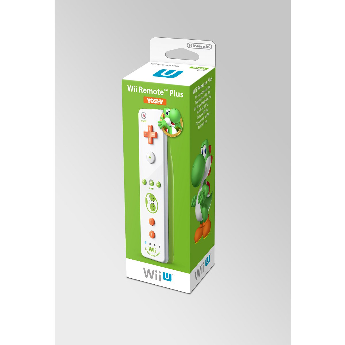 nintendo wiimote plus yoshi wii wii u accessoires wii. Black Bedroom Furniture Sets. Home Design Ideas