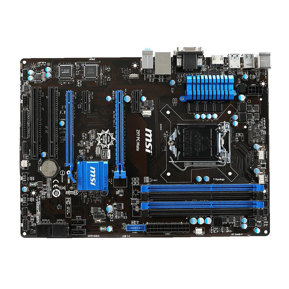 MSI Z97 PC MATE  Carte mère MSI sur LDLC