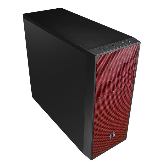 Boîtier PC BitFenix NEOS (noir/rouge) Boîtier moyen tour