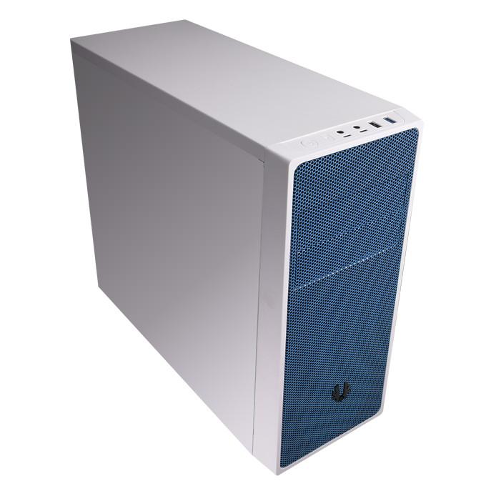 Boîtier PC BitFenix NEOS (blanc/bleu) Boîtier moyen tour
