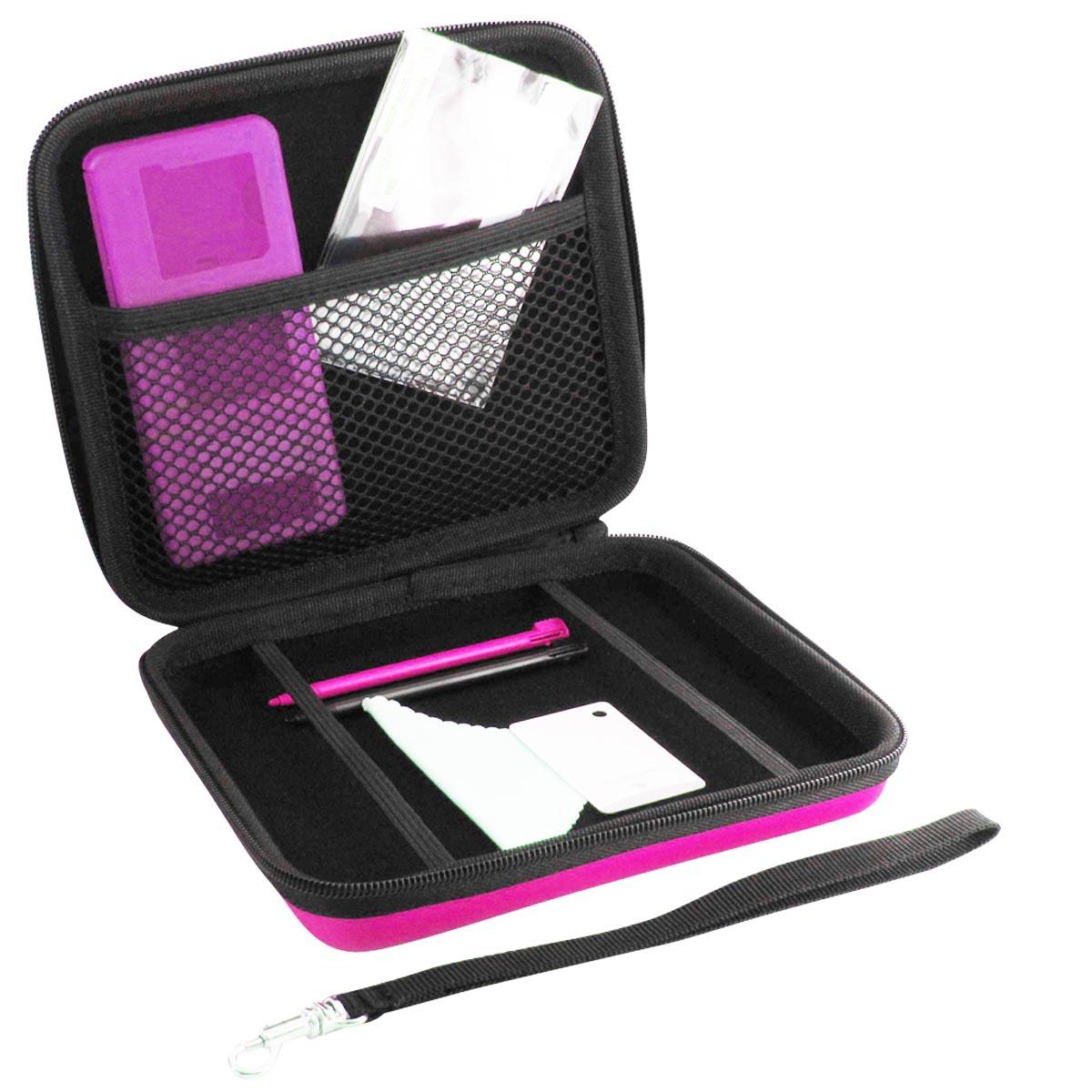 Dea factory starter pack rose nintendo 2ds accessoires for Housse nintendo 2ds xl