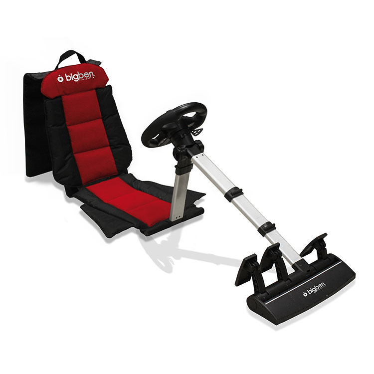 bigben racing seat ps3 ps2 pc volant pc bigben. Black Bedroom Furniture Sets. Home Design Ideas