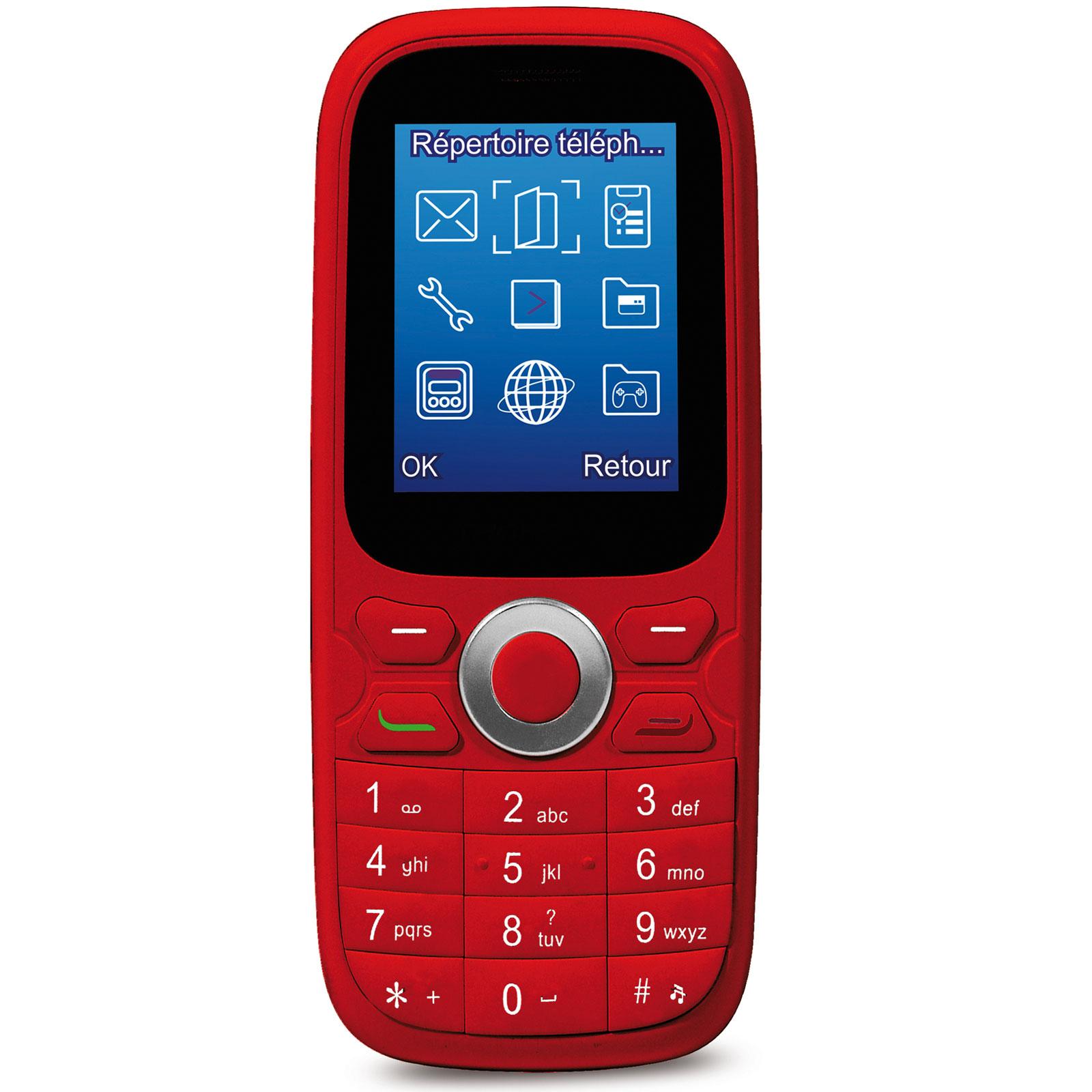 thomson tlink 15 rouge mobile smartphone thomson sur ldlc. Black Bedroom Furniture Sets. Home Design Ideas