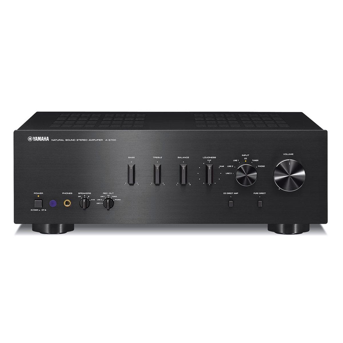 Yamaha a s700 noir boston a 26 noir real cable iplug btr yamaha as700b n - Adaptateur bluetooth home cinema ...