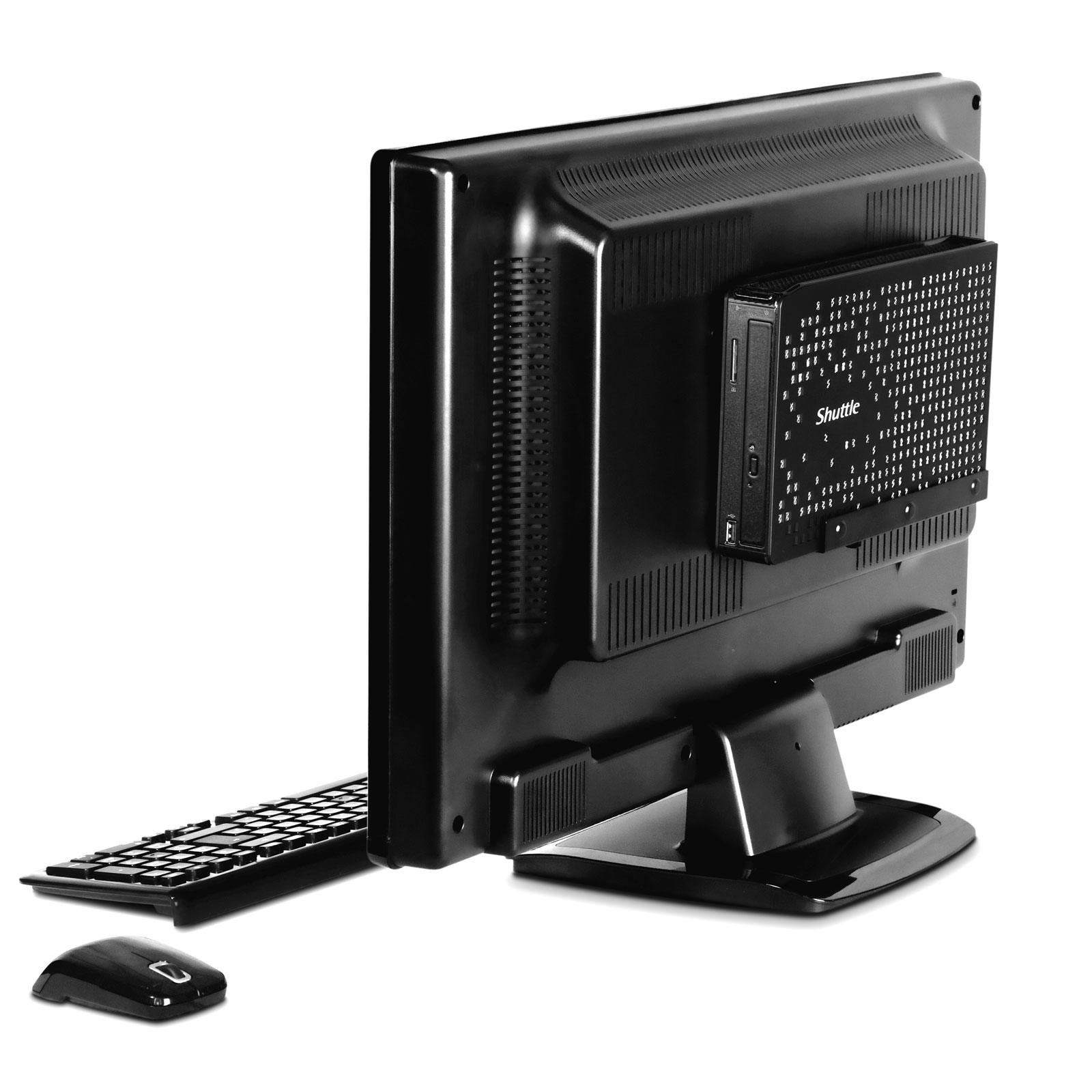 shuttle xs35v4 mini barebone xs35v4 achat vente barebone pc sur. Black Bedroom Furniture Sets. Home Design Ideas