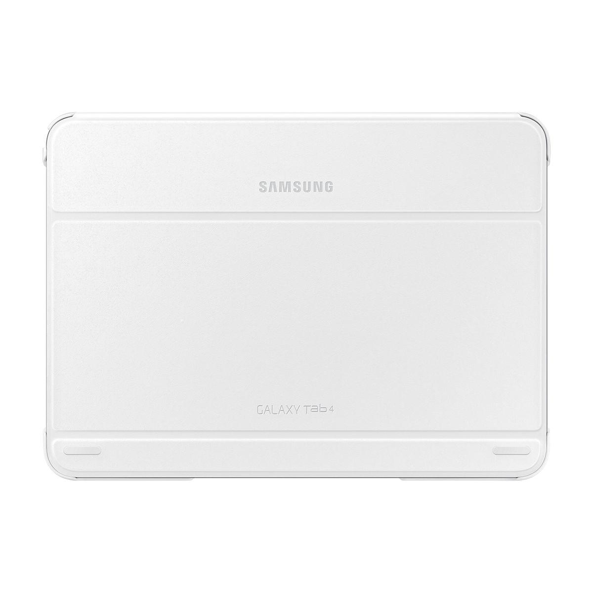 samsung book cover blanc pour samsung galaxy tab 4 10 1. Black Bedroom Furniture Sets. Home Design Ideas