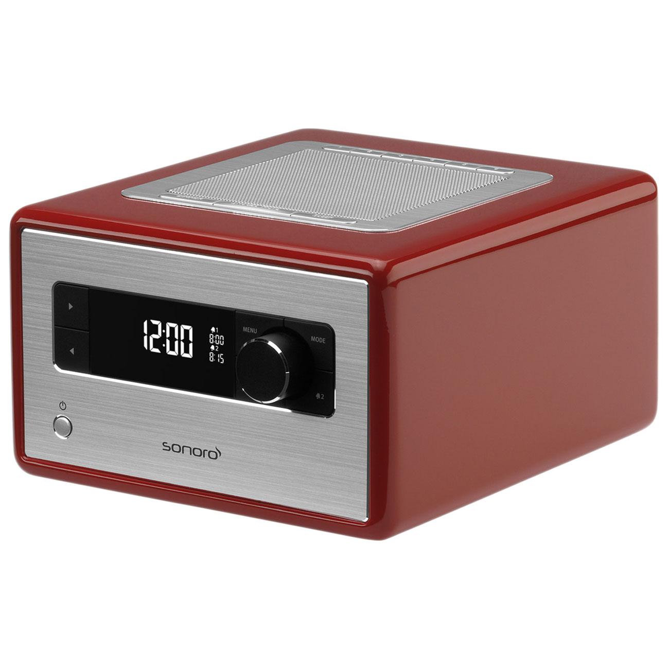 sonoro radio rouge radio radio r veil sonoro sur ldlc. Black Bedroom Furniture Sets. Home Design Ideas