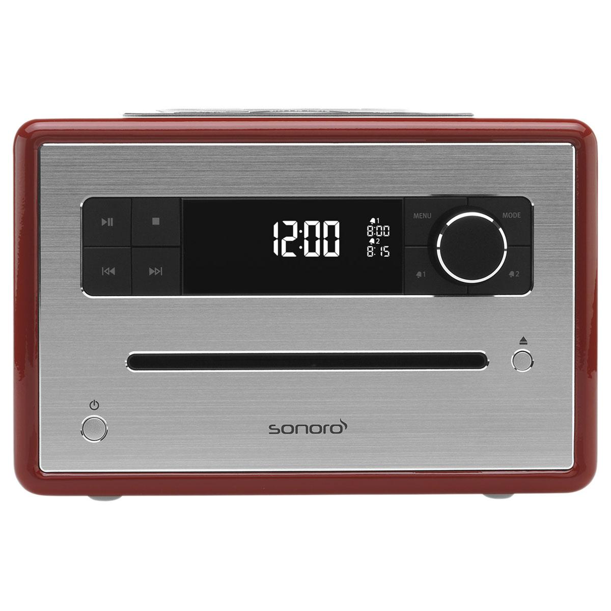 sonoro cd rouge radio radio r veil sonoro sur ldlc. Black Bedroom Furniture Sets. Home Design Ideas