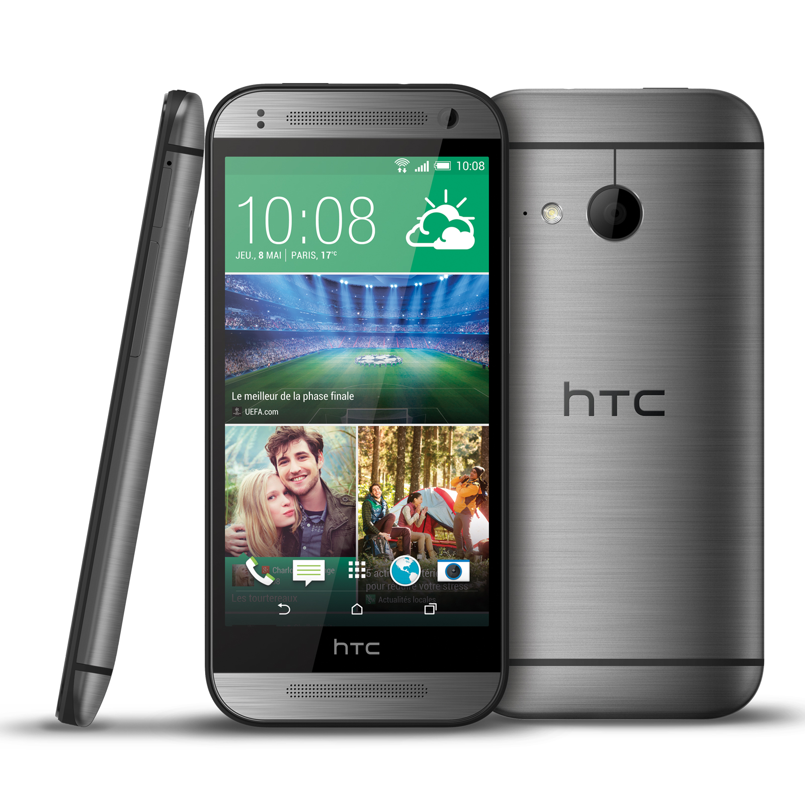 Htc one mini 2 gris mobile smartphone htc sur ldlc for Photo ecran htc