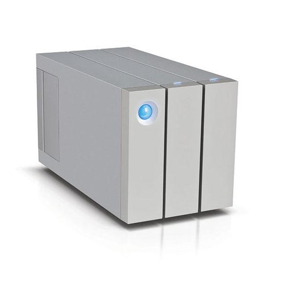 Disque dur externe LaCie 2big Thunderbolt 2 - 8 To Système de stockage RAID professionnel haute performance à 2 disques sur ports Thunderbolt 2 et USB 3.0 (garantie LaCie 3 ans)